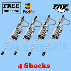 Fox Front 0-1.5 And Rear 0-1 Lift Shocks Fits Ford F350 4wd 2008-2010