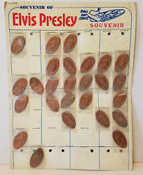 26 Elvis Presley Roll Out Cent Pressed Rolled Elongated Penny Pennies Souvenir