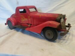 Antique Marx Siren Fire Chief Car Very Clean Good Condition. Eco Shipping. Wow