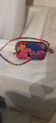 Vera bradley all in one crossbody wallet $25.00