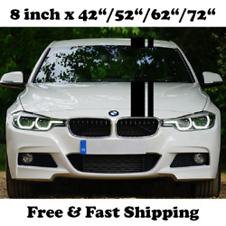Auto Racing Stripes Decals Car Body Hood Trunk Graphics Vinyl Decals