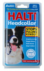 The Company of Animals Halti Headcollar for Dogs Stops Pulling Padded Nose Band