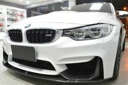 Front Bumper Extension / Spoiler Carbon Performance For Bmw M3 F80 + M4 F82 F83