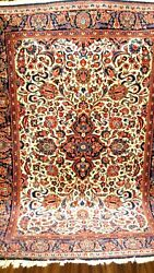 Antique 1930 Estate Find Full Pile Amazing Small Rug Very Fine .