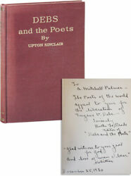Ruth Le Prade And Upton Sinclair-debs And The Poets-1st Ed-insc.to A.mitchell Palmer