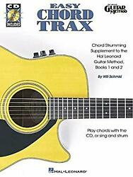 Easy Chord Trax Pop/rock Chord Supplements To The Hal Leonard Guitar Method By