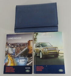 Document Kit + Manual Owner's Manual + Wallet Land Rover Discovery 4 Stand 2010