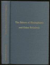 Norma Baker Mccullough / Bakers Of Sissinghurst And Other Relatives Signed 1981