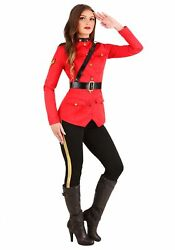 RCMP Canadian Mountie Costume for Women $54.98