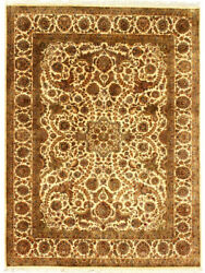 Floral Design Oriental Carpet 9x12 Hand Knotted Rug Handmade Area Carpets New