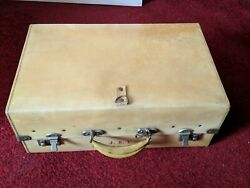 Rare Antique Leather Travelling Shoe Case Mawson Swan And Morgan Ltd