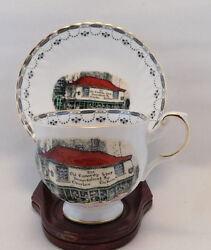 Rosina Dickens Old Curiosity Shop London Cup And Saucer