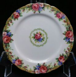 Paragon Tapestry Rose Plate 8 1/4