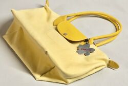 EZBAG foldable Tote On The Go Large Tote Bag Yellow Waterproof NWT $46 $15.00