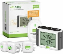 Electricity Monitor Power Energy Elite Wireless Three-phase Pack Voltage Amp New