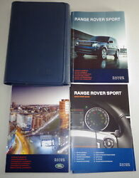 Document Kit + Manual Owner's Manual + Wallet Range Rover Sport Stand 2012