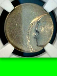 Ngc Die Adjustment Strike + 50 Off-center █ Unique Jefferson Nickel █ Wowser 5c