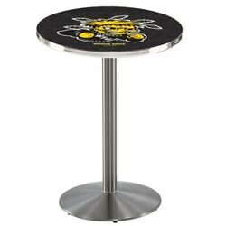 Holland Bar Stool Co. L214s3628wichst 36 Stainless Steel Wichita State Pub