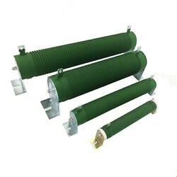 1pc Power Coated Corrugated Wire-wound Resistor 5 Fixed Tubular Shap 20-1000w