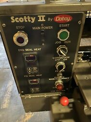Doboy Scotty II Packaging Stainless Steel Machine - Great Working Condition!