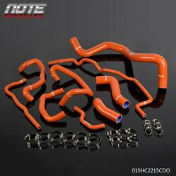 Silicone Radiator Coolant Hose Kit Fit For Volkswagen 99-06 Golf 1.8t Mk4 Turbo