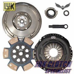 Jdk Stage 3 Track Clutch And Luk Flywheel Kit Fits 2003-2007 Accord 3.0l V6