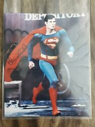 Christopher Reeve Superman 8x10 Hand Signed Autograph Photo Authenticated