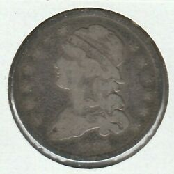 1835 Good G Capped Bust Us Silver Quarter 25c