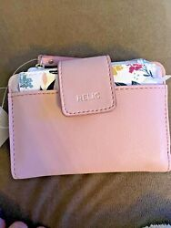 Relic by Fossil Molly Multifunction Wallet Blush $18.00
