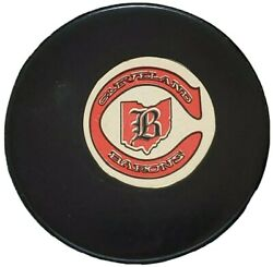 Cleveland Barons Approved Nhl Official Game Puck Rare Vintage Viceroy Mfg. 🇨🇦
