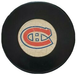 Montreal Canadiens Approved Nhl Official Game Puck Rare Vintage Viceroy Mfg 🇨🇦