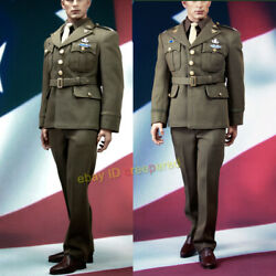 Poptoys 1/6 Series X19 Wwii Captain Military Uniforms Suit Style A F 12'' Figure