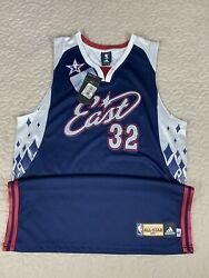 Shaq Shaquille O'neal 2007 Nba All Star Authentic Jersey Adidas 44 Miami Heat