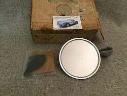 1967 Corvette Outside Door Mirror Nos Glass Dated 7-dmi-8, Box Dated 8-13-68