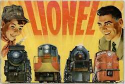 Toy Train Sets / Lionel Lionel Trains With Magne-traction 1954
