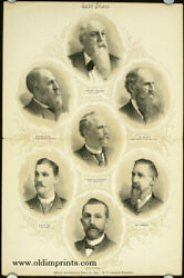 Oregon Noteworthy People / Officers And Executive Board Of 1890 N P Industrial