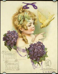 Calendar For 1905 With Maud Humphrey Illustrations / 1904