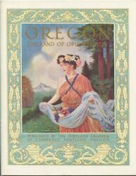 Oregon The Land Of Opportunity / 1911