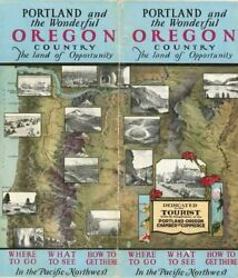 Portland And The Wonderful Oregon Country The Land Of Opportunity Where Signed
