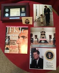 Jfkjfk Jr 5-pc Collectibles 50th Coin/stamp 2939/5000 Memorialtributephotos