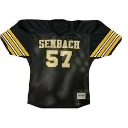 Vtg Usafe Us Air Force Europe Football Sembach Tigers Mesh Game Style Jersey 2xl