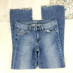 Calvin Klein Ultimate Boot Womens Jeans Size 298 Blue Mid Rise S $16.00