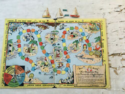 Little Orphan Annie Radio Premium Lot Game Map Decoder Phamplets With Envelop