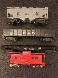 American Flyer Lot Of 4 New Haven 928 Crp 924 Reading 630 Norfolk Western 804