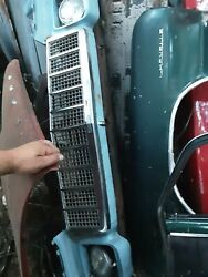 1975 Chevelle Malibu Original Gm Grill Grille Oem With Bezels And Headlights