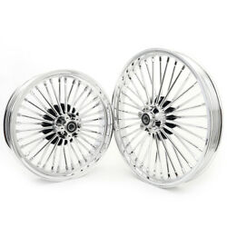 21 18 Front Rear Wheels Road King Fxdwg Electra Glide Flht Softail Fxdl 84-07