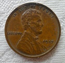 ✔ 1917 Wheat Cent Matte Proof Very Strong Strike