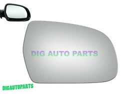 Mirror Glass+adhesive For 10-16 Audi A4audi A4 Quattro Passenger Right Side Rh