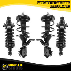 Front And Rear Complete Struts And Coil Spring Assemblies For 2002-2004 Acura Rsx