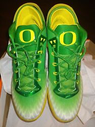 New Nike Zoom Field General Oregon Ducks Size 13 Matches Football Jersey Rare